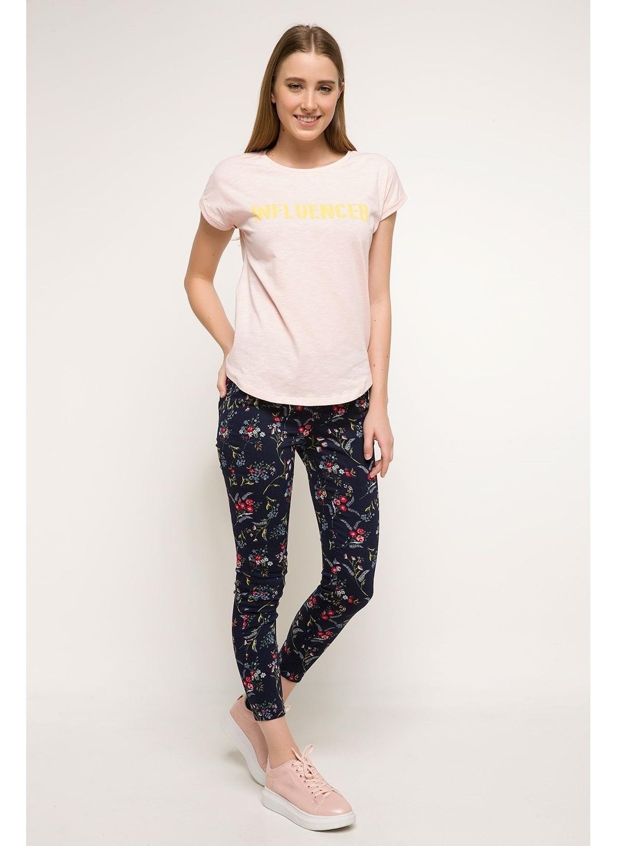 Defacto Anna Yüksek Bel Süper Skinny Desenli Pantolon I5007az18spnv82pantolon – 59.99 TL